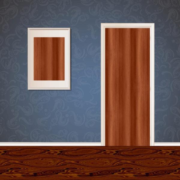 Dark Brown Wood Veneer SKT-VNR-10