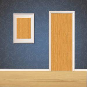 Baked Clay Wood Door SKT-D-11_1