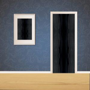 Espresso Wood Door SKT-D-13_1