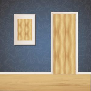 Raw Wood Door SKT-D-14