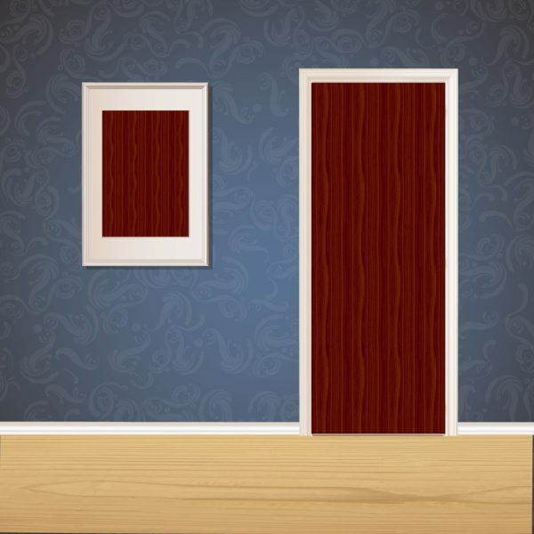 Red Wood Door SKT-D-16_2