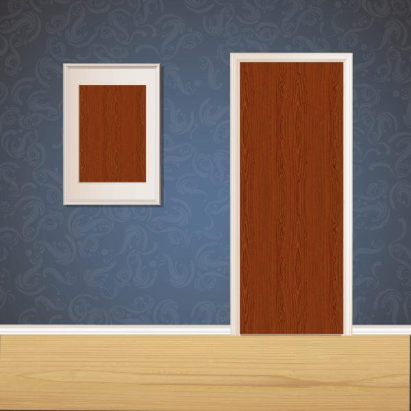 Brown Wood Door SKT-D-17