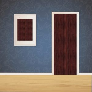 Ground Wood Door SKT-D-19