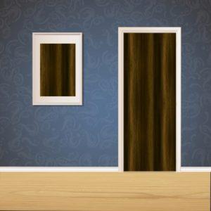 Mehndi Wood Door SKT-D-2