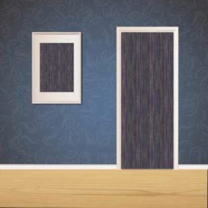 Blue & Gray Wood Door SKT-D-20
