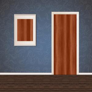 Chocolate Brown Wood Veneer SKT-VNR-23