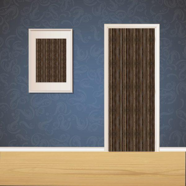 Dark Brown Wood Door SKT-D-24