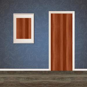 Furnished Brown Wood Veneer SKT-VNR-26