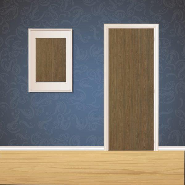 Koko Brown Wood Door SKT-D-28