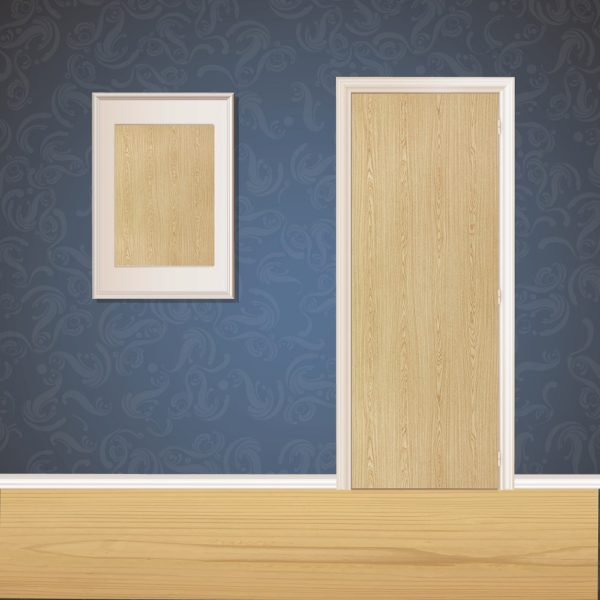 Paper Brown Wood Door SKT-D-29