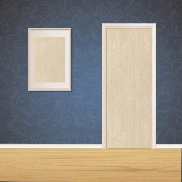 Dull Brown Wood Door SKT-D-29_1