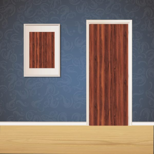Red Wood Door SKT-D-30