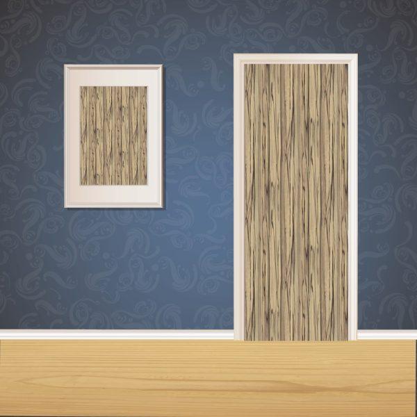Rough Brown Wood Door SKT-D-31_1