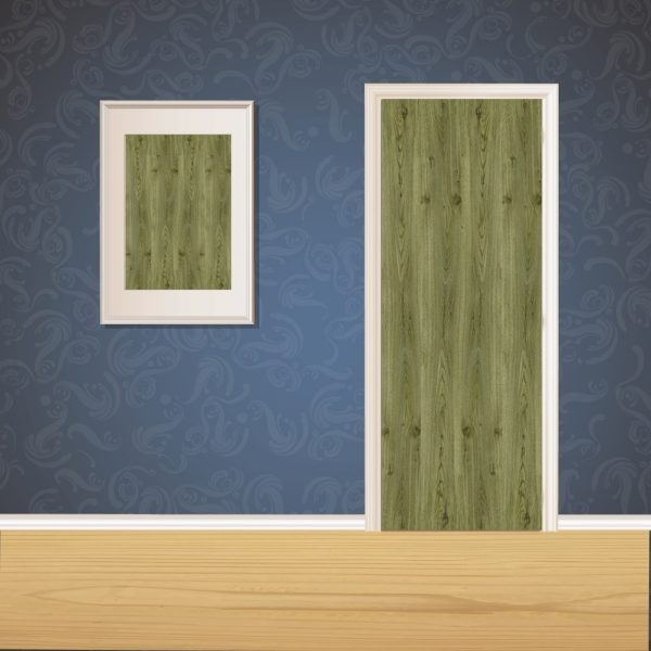 Green Wood Door SKT-D-32