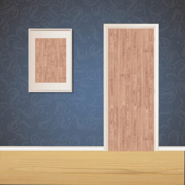 Desert Tan Wood Door SKT-D-34