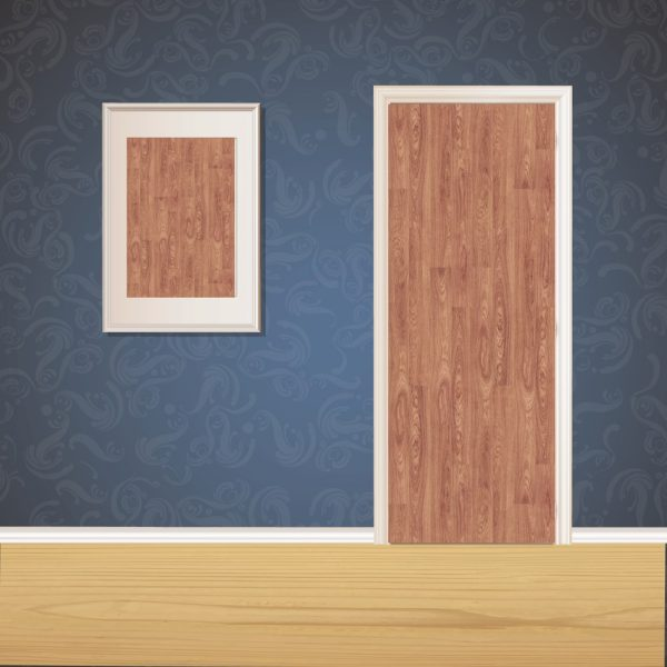 Desert Tan Wood Door SKT-D-34_1