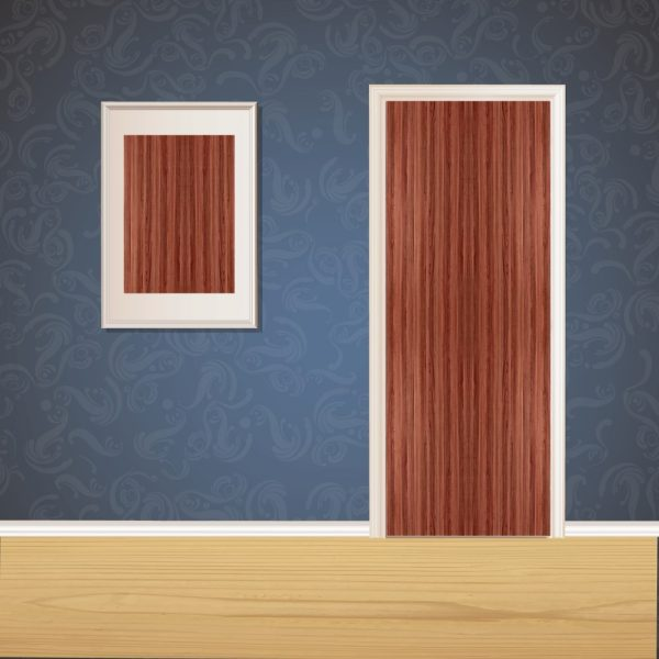 Mahogany Wood Door SKT-D-4