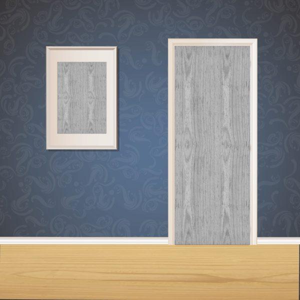 Escape Gray Wood Door SKT-D-40