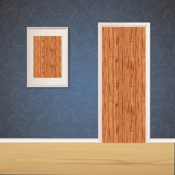 Natural Wood Door SKT-D-46