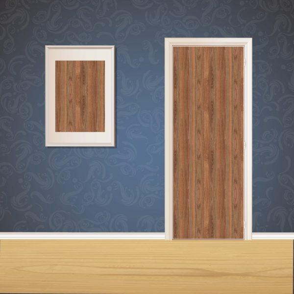 Dark Walnut Wood Door SKT-D-6