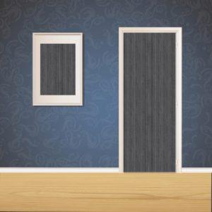 Espresso Wood Door SKT-D-8_2